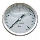 Edelstahlmanometer Ø 100