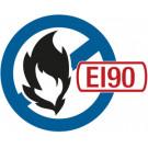 Brandschutzkit Ø220/070 EI 90