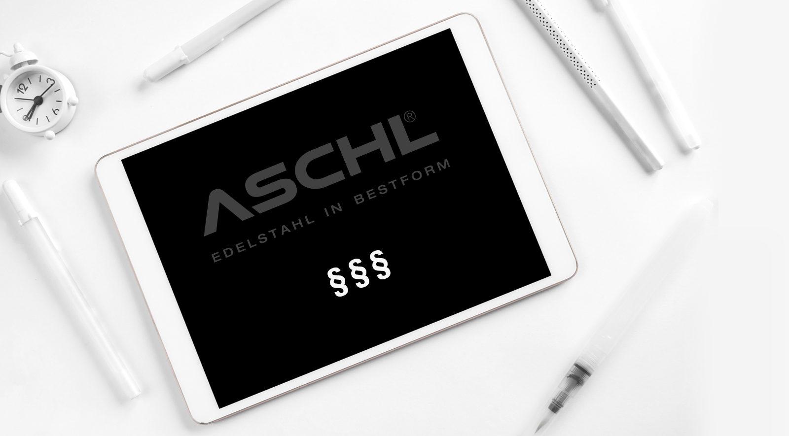 ASCHL Impressum