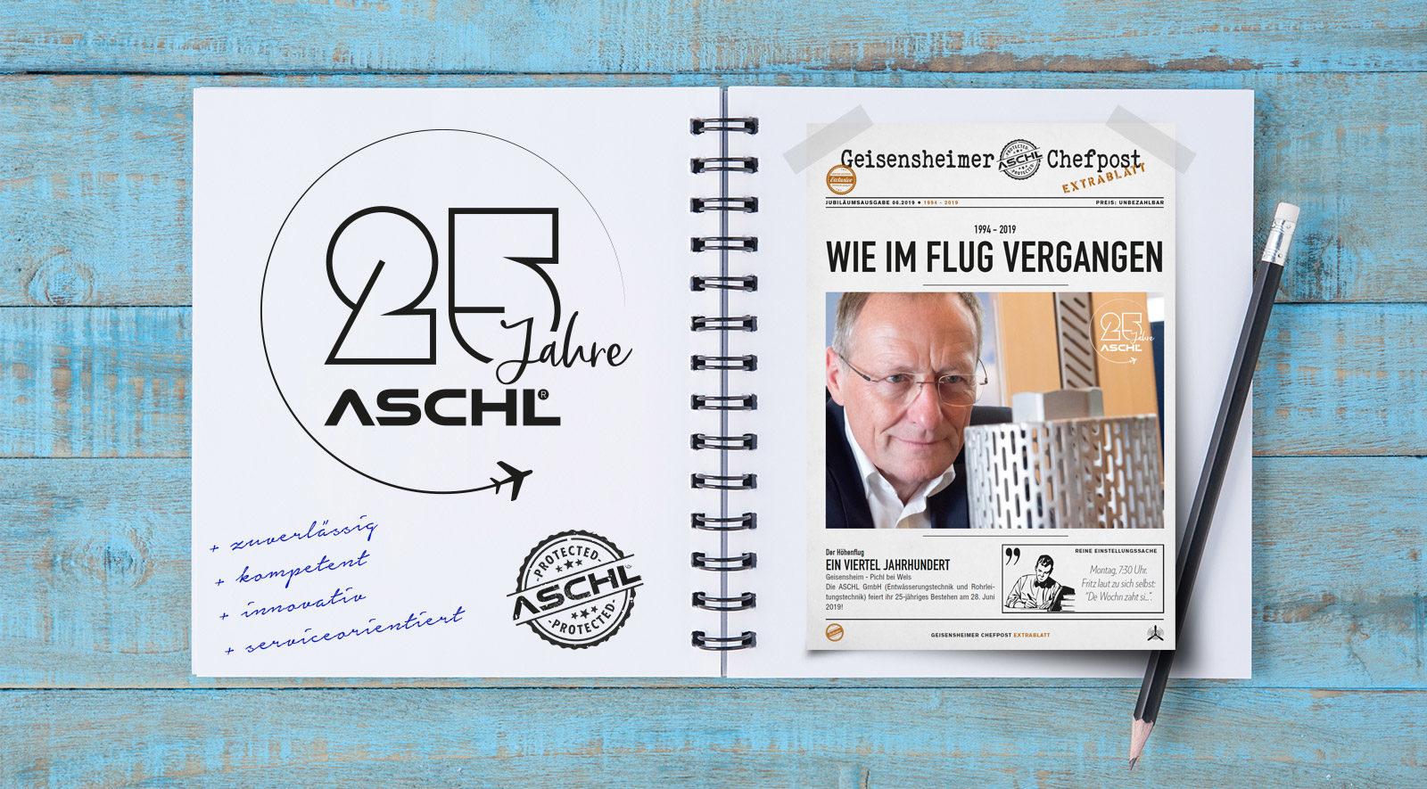 25 Jahre ASCHL / 1A Edelstahl GmbH