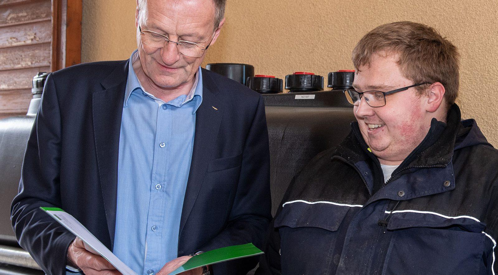 Ing. Roman Aschl und Lukas Hundstorfer