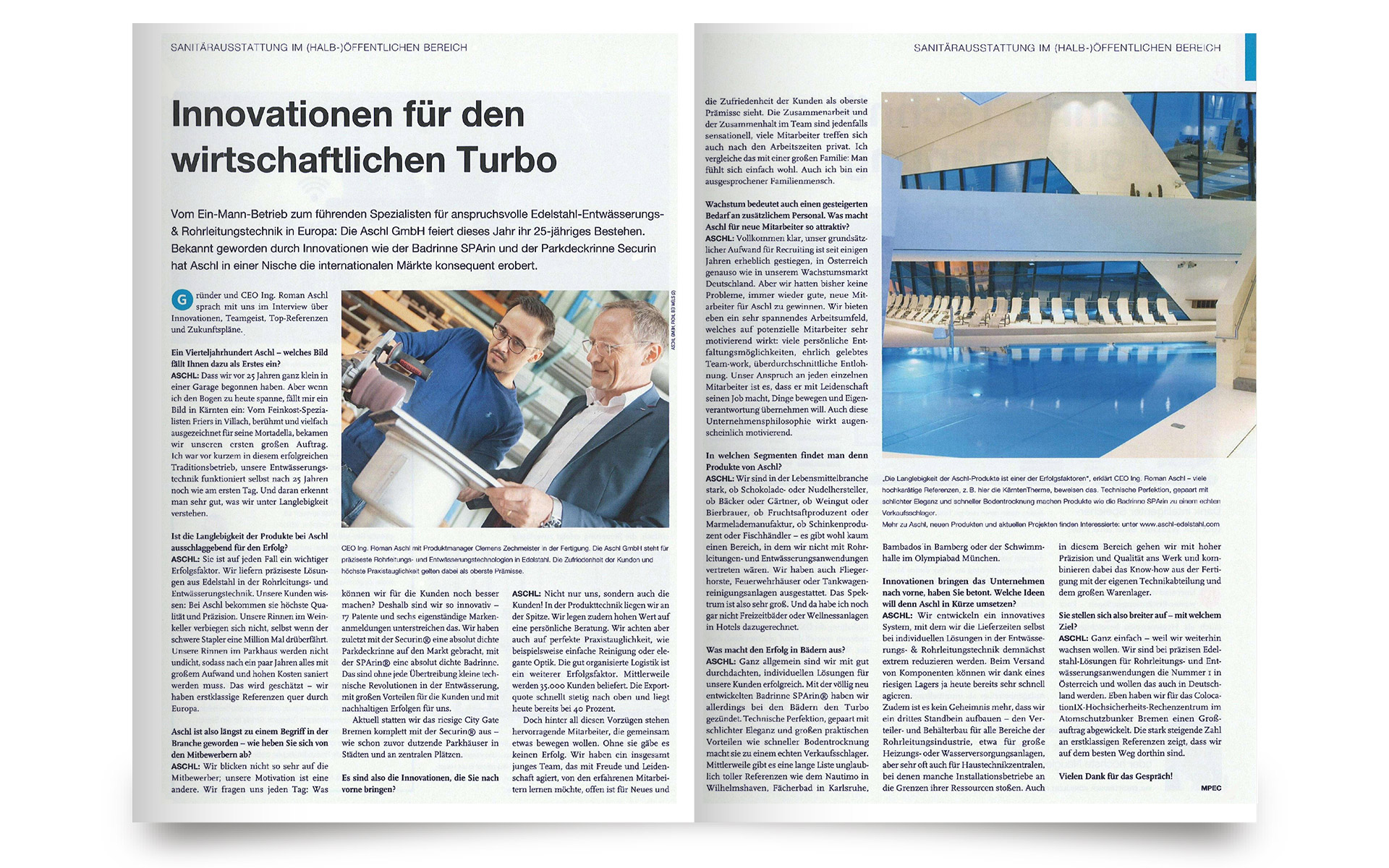 Der österreichische Installateur - 25 Jahre ASCHL