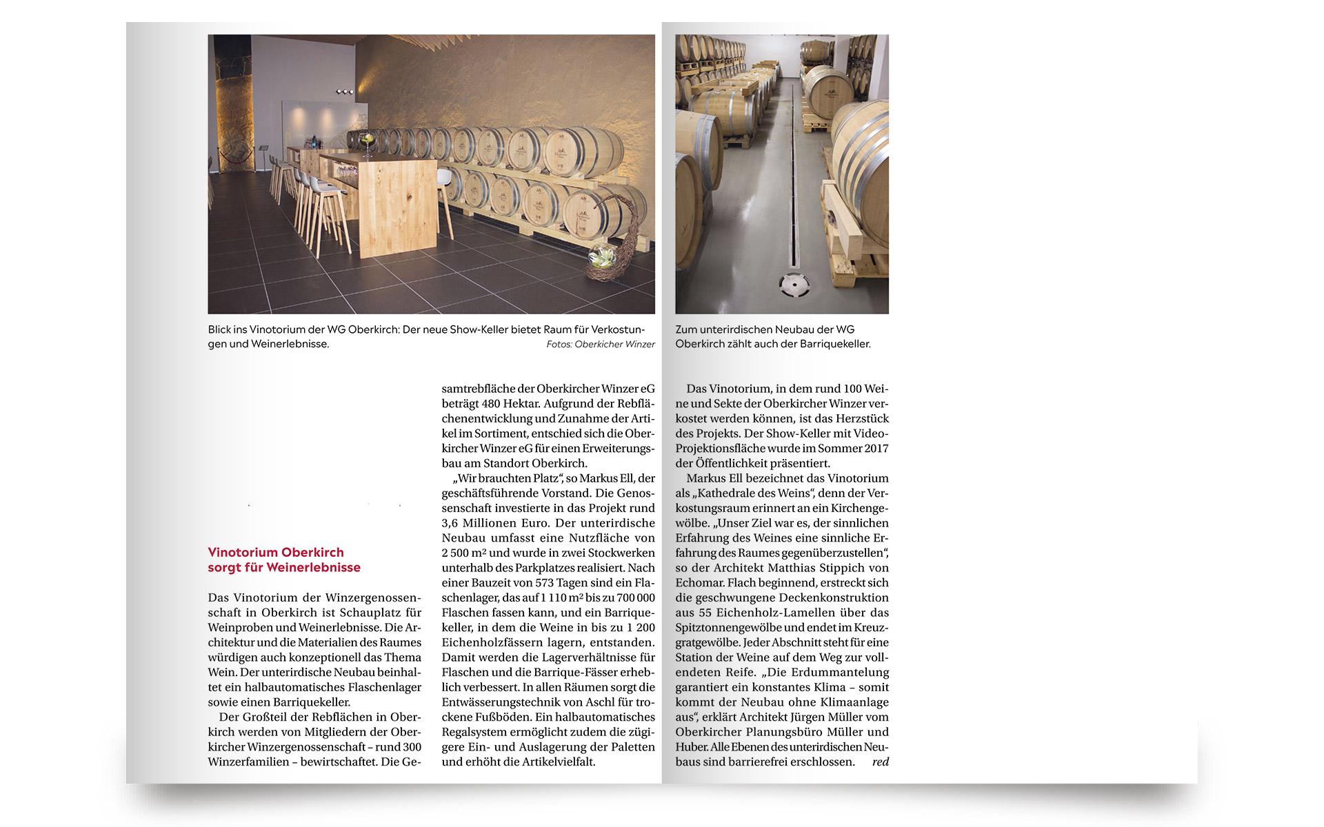 Das Deutsche Weinmagazin - Oberkircher Winzer